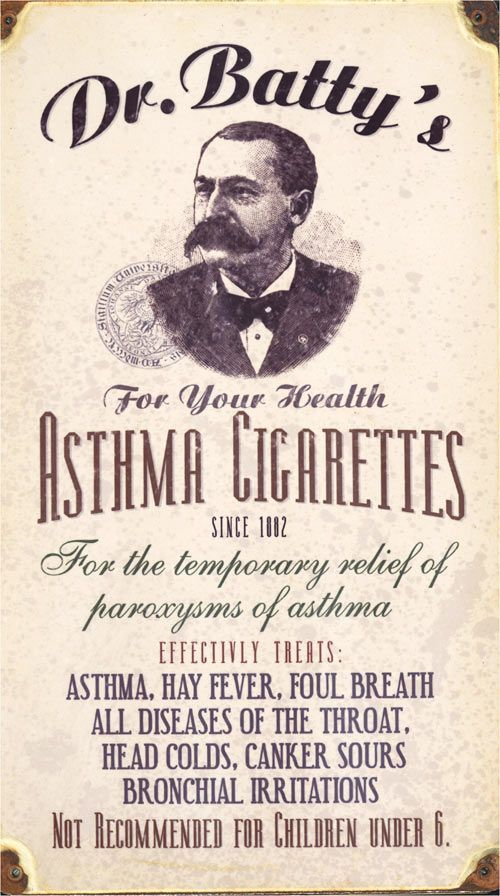 asthma cigarette - Google Search