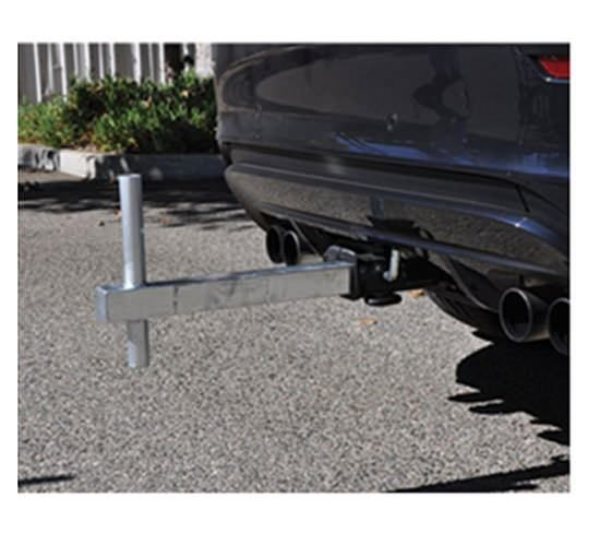 Tow Hitch For Feather Flag Pole Kit Flag Pole Kits Tow Hitch Flag Pole