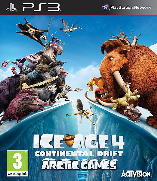Ice Age 4 Continental Drift Arctic Games Ps3 Iso Rom Download Continental Drift Games Gaming Wallpapers Hd