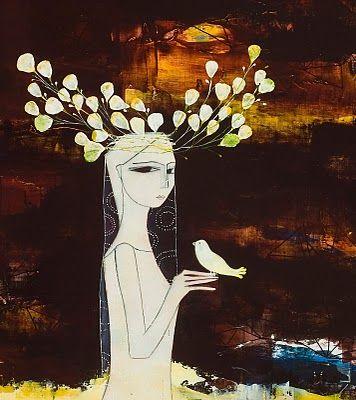 NEVIN HIRIK painting, love!