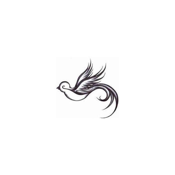 Dove Tattoos | Peace Dove Tattoo Designs found on Polyvore