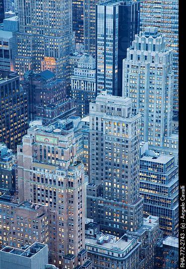 Blue Hour - NYC © Angelo Cavalli