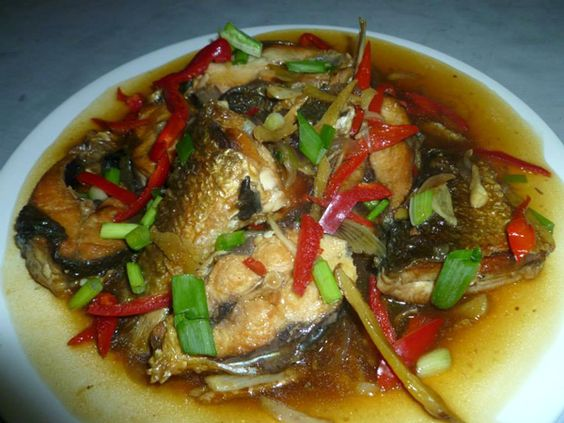 Kusina master recipes fish escabeche traditional for Fish escabeche recipe