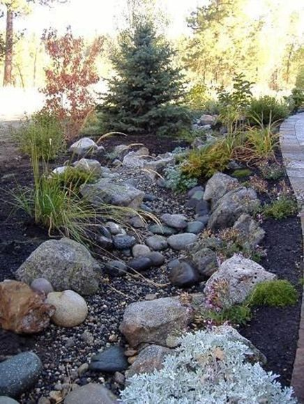 45++ Dry river bed landscaping ideas inspirations