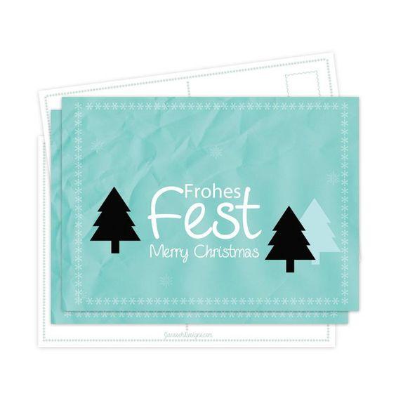 Weihnachtskarten * Frohes Fest*
