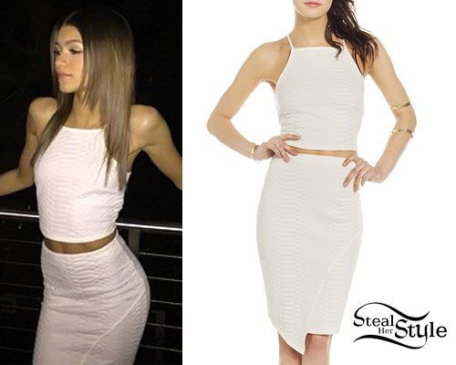 Zendaya Crop Top \u0026 Skirt Sets