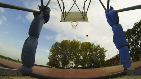 Morning Hoops  #basketballneverstops #basketball #bball #pallacanestro #treys #3s #threepointers #gopro #goprohero3black #goproworld #passion #sun #summer #triple #ballislife #kanyewest #runaway by gianfrancopastore