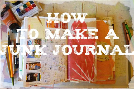 HOW TO MAKE a junk journal by Cristina Parus @ creativemag.ro