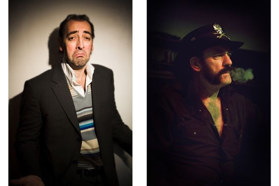 Alistair McGowan and Lemmy Strange combination I know!