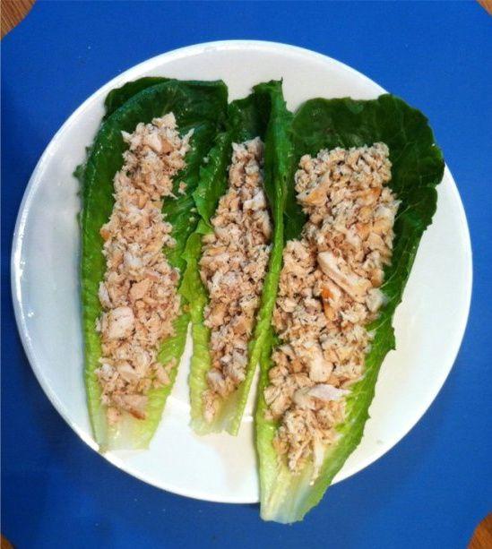 caesar chicken wraps from sandy 39 s kitchen medifast