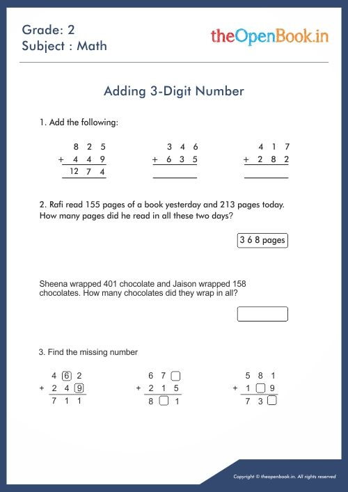 Maths Worksheets Kids Math Worksheets Worksheets For Kids Math Worksheet