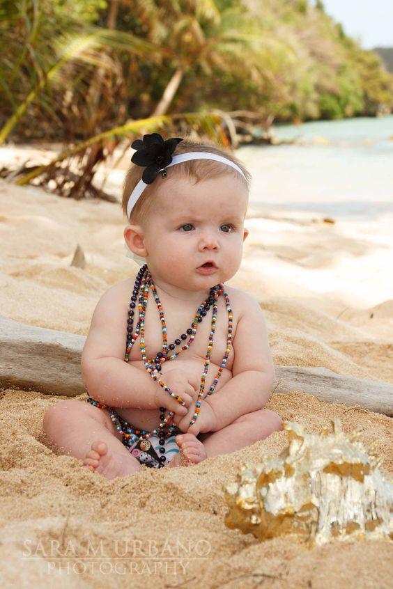 Baby, Beads, Beach.