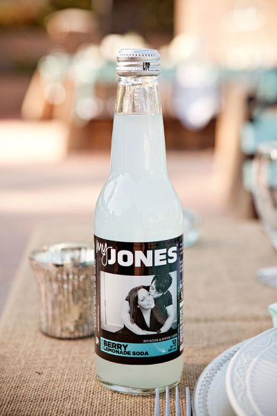 Personalized sodas   Style Me Pretty | Gallery | Picture | #182431