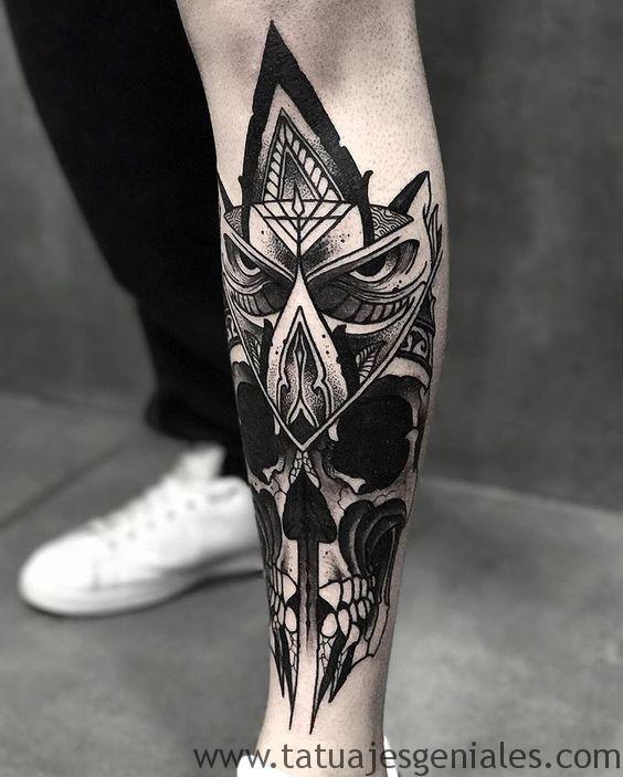 60 Especiales Tatuajes En La Pierna Y En El Muslo Tatuajes Pierna Tatuajes Tatuajes Para Hombres