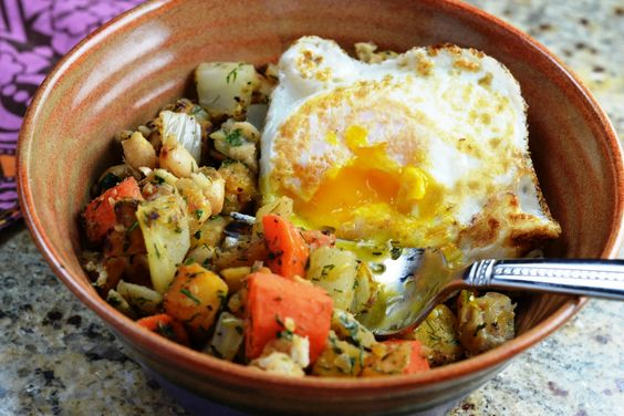 Fennel, Rutabaga and White Bean Hash