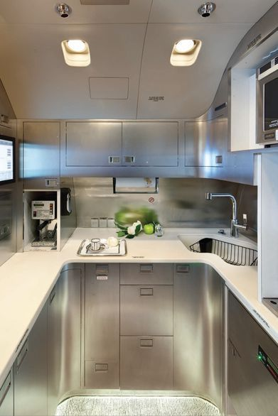 Private 737 kitchen | Private Jets | Pinterest | Veranda ...