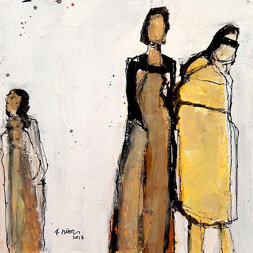 Figuren Leinwand Suessart Kunst Aus Leidenschaft