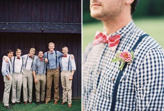 E gravata borboleta com suspensório? Um charme! #bowtie