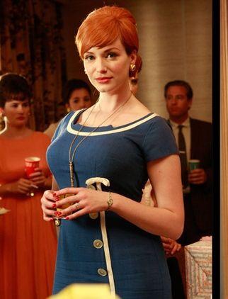 Joan Holloway's Blue Dress