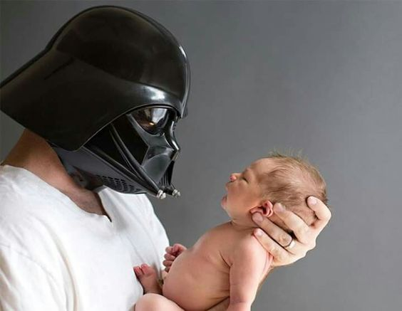 For my hunny, he loves Star Wars so he would get kick out of it.