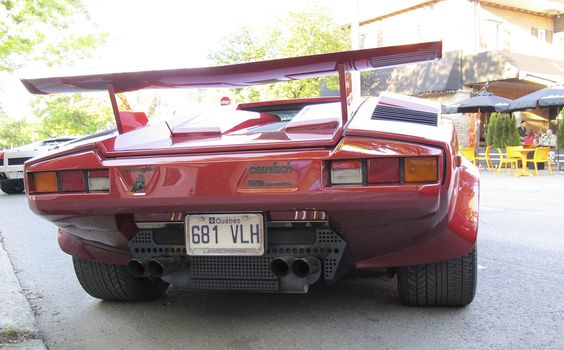 Only countach : Photo