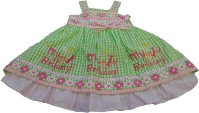 First Birthday Party, birthday dress, free personalized