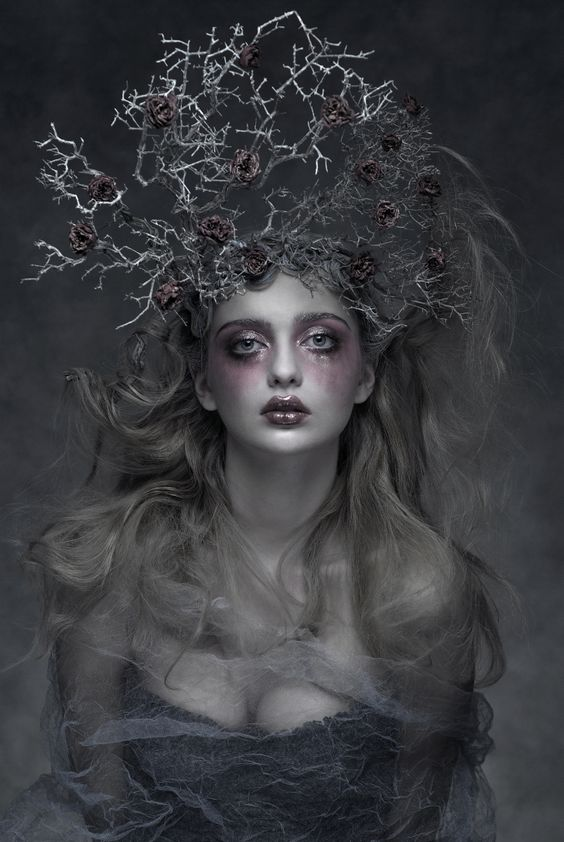 Dark Beauty Magazine - Model:Dana Mostek, Photographer/Costume/Make Up:Agnieszka Jopkiewicz