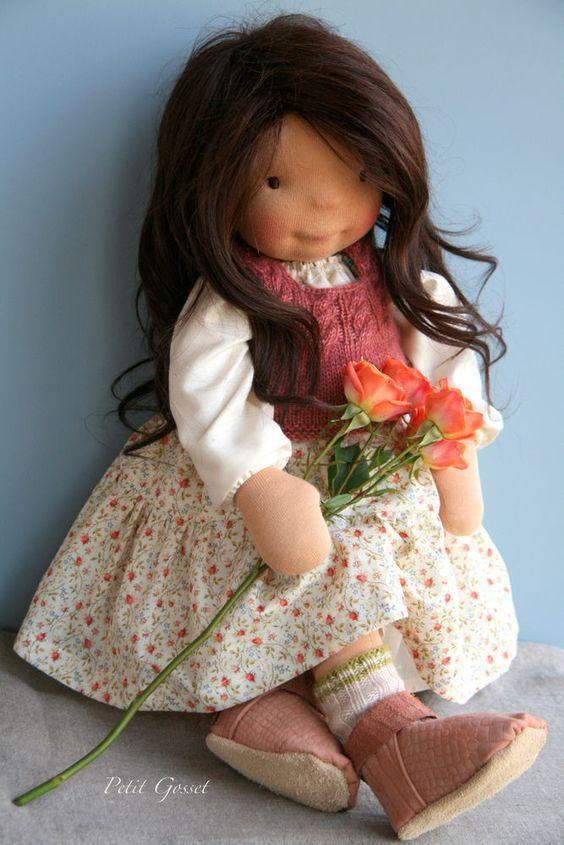 Waldorf doll /Родом из детства: теплые и душевные вальдорфские куклы от иностранных мастеров - Ярмарка Мастеров - ручная работа, handmade