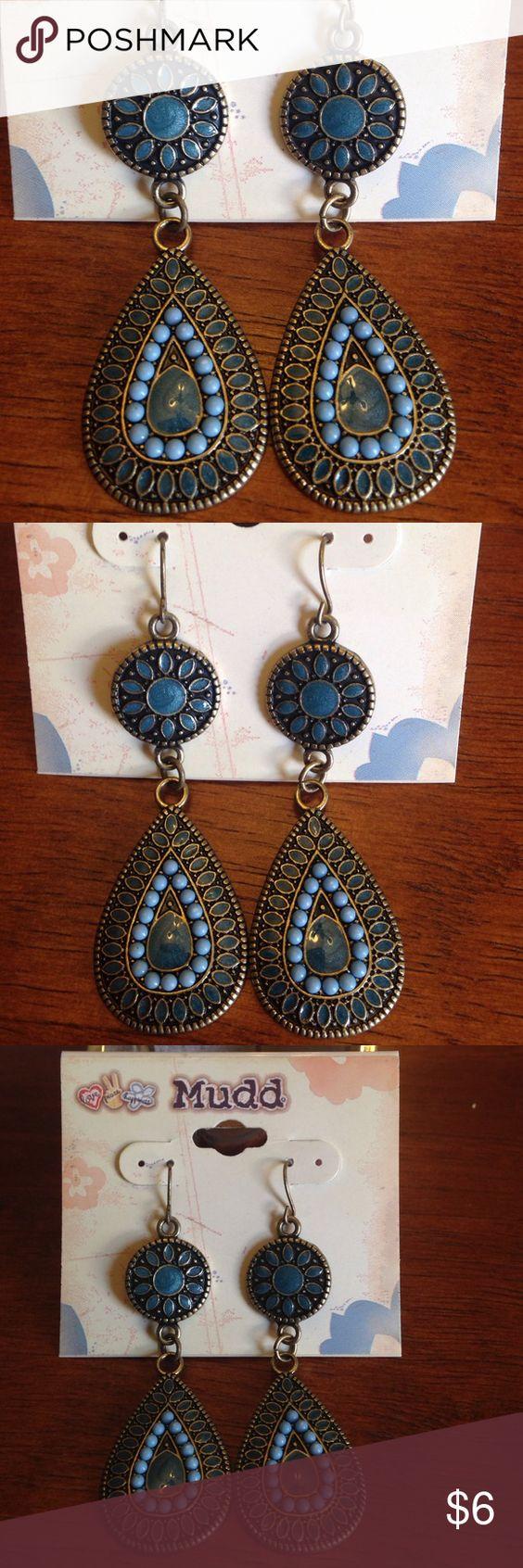 Beautiful boho earrings New with tags. Mudd Jewelry Earrings