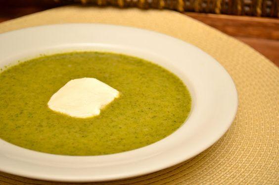 Spinach & Goat Cheese Bisque | Breakfast, Lunch & Dinner | Pinterest ...