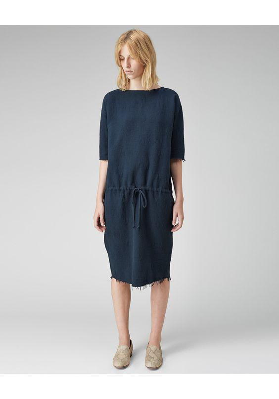 Black Crane / Slim Dress | La Garçonne