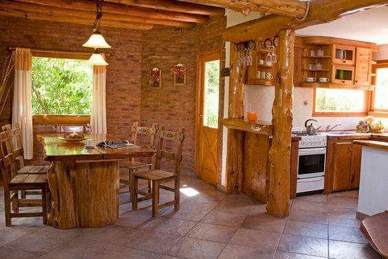 Modelos de cabanas e casa de campo rusticas pesquisa - Modelos de cocinas rusticas ...