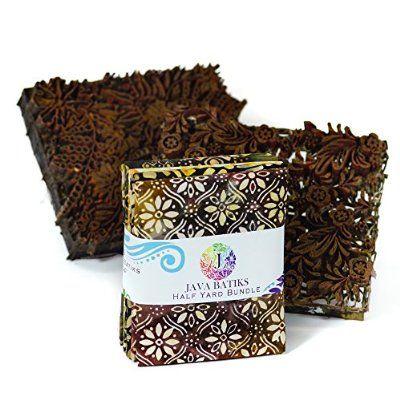 Java Batiks Half Yard Bundle 5 Pieces CC143