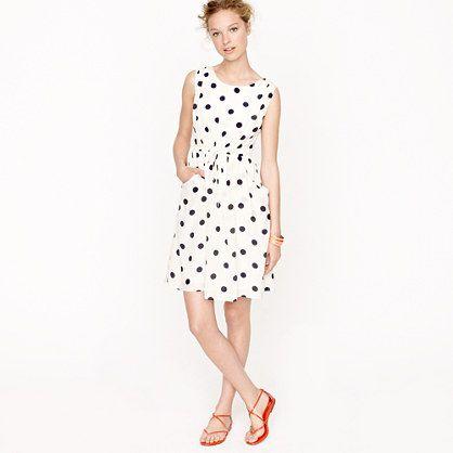 Scatter-dot dress