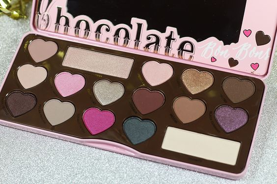 Too Faced Chocolate Bon Bons Palette Is Delicious - Too Faced Cosmetics - #toofaced