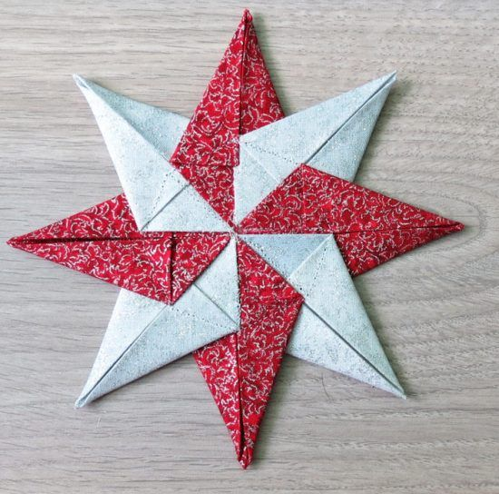 Christmas Quilt Patterns Fabric Christmas Ornaments Ornament Tutorial Fabric Stars