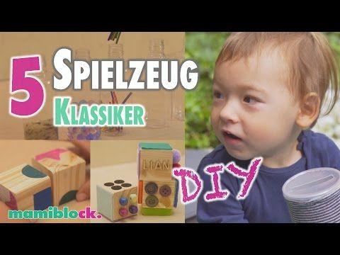 Sensorik Flaschen selber herstellen DIY Spielzeug für