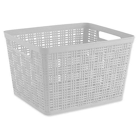 Tall Plastic Washing Basket