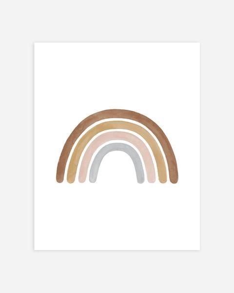 Rainbow Print Nature Art Prints Rainbow Print Rainbow Painting