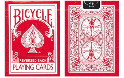 Bicycle Red Reversed Back Playing Cards. #playingcards #poker #games