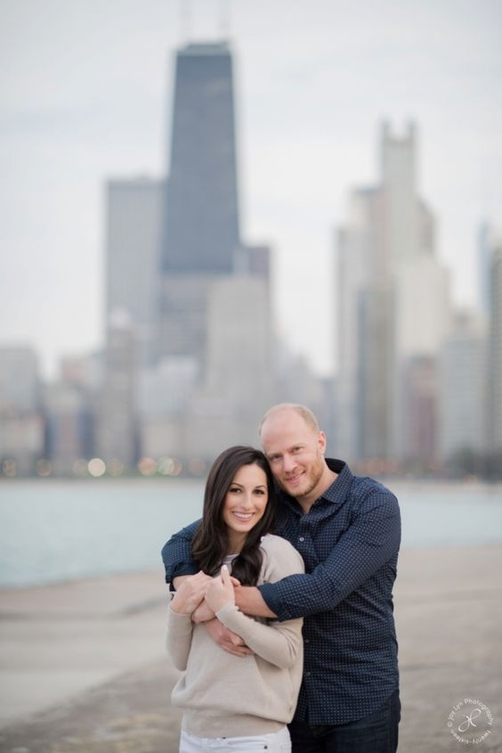 Chicago Skyline, Chicago Engagement Session