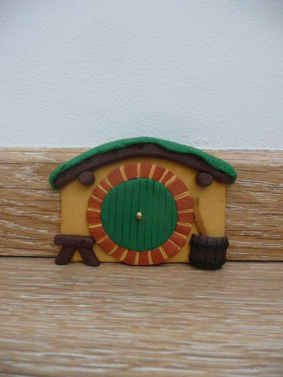 Portes de f es seigneur des anneaux and f es on pinterest for Porte hobbit