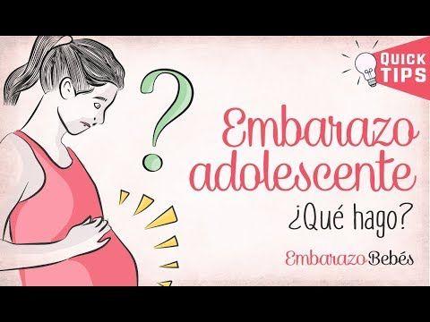 Embarazo En La Adolescencia Que Hago Riesgos Youtube Embarazo Precoz Embarazo Adolescente Embarazo