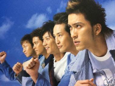 TOKIO5人走り出す躍動感ある壁紙