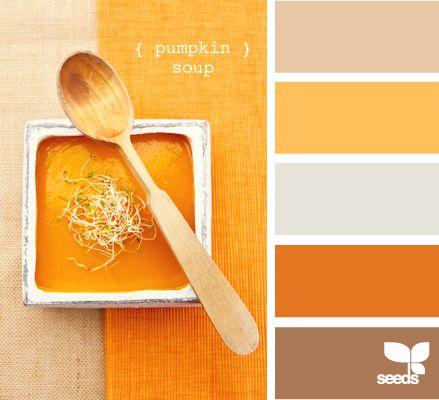 pumpkin soup: