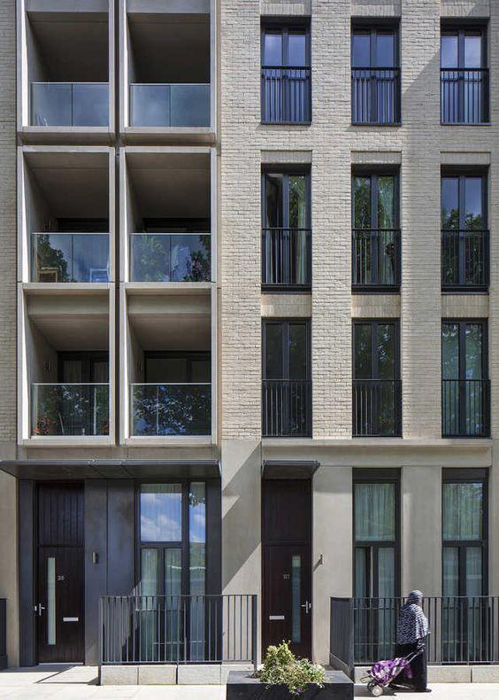 Novini Minimalistdecorikea Facade Architecture Building Facade Brick Architecture