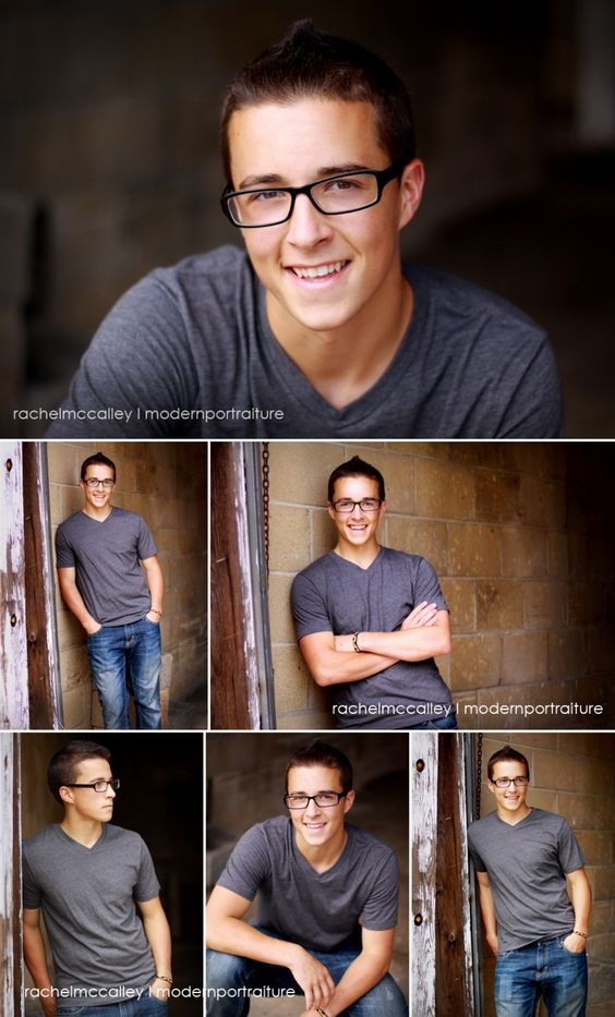 Great ideas for guy/boys different senior poses. #rachelmccalley www.nctricolor.com Approves