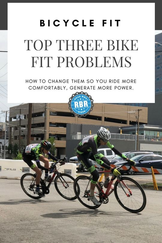 Top 3 Bike Fit Problems And How To Fix Them Bicycle Biking