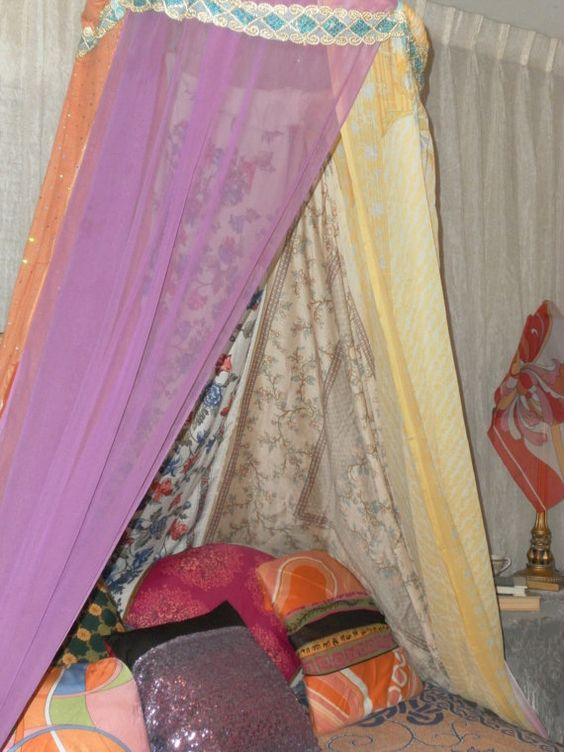 Boho Bedding Canopy Tent Gypsy Glamping Tent Gypsy by Neci ...