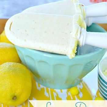 Lemon Drop Cheesecake Popsicles! -- Tatertots and Jello